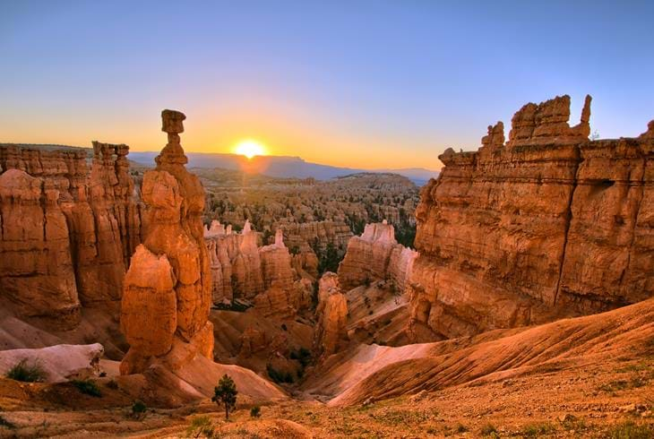 Bryce Canyon National Park i Utah