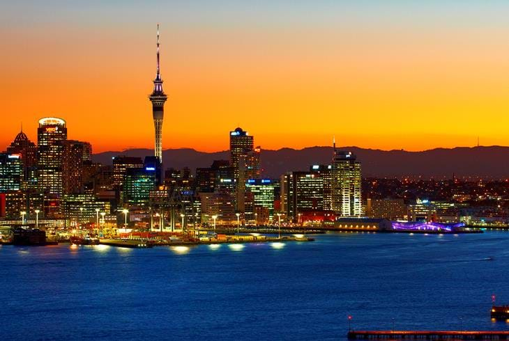 Auckland City skyline | Foto: Tourism NZ & Chris McLennan