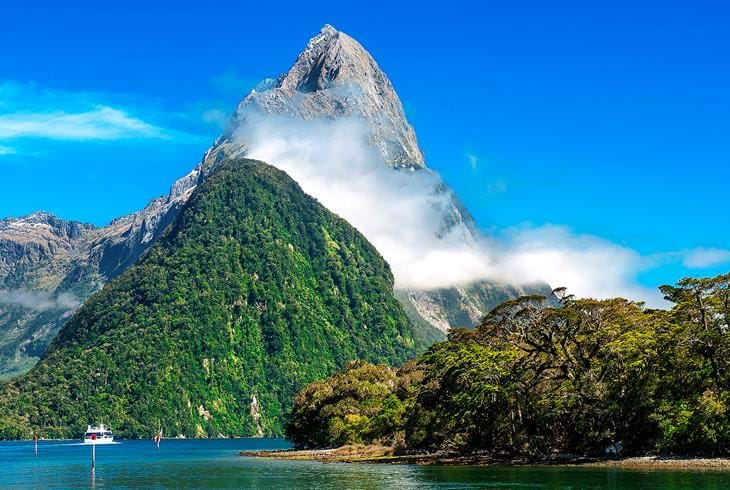 Milford Sound i Fiordland National park