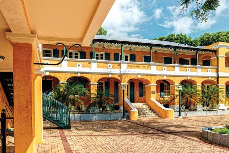 Fort Christiansted på St. Croix