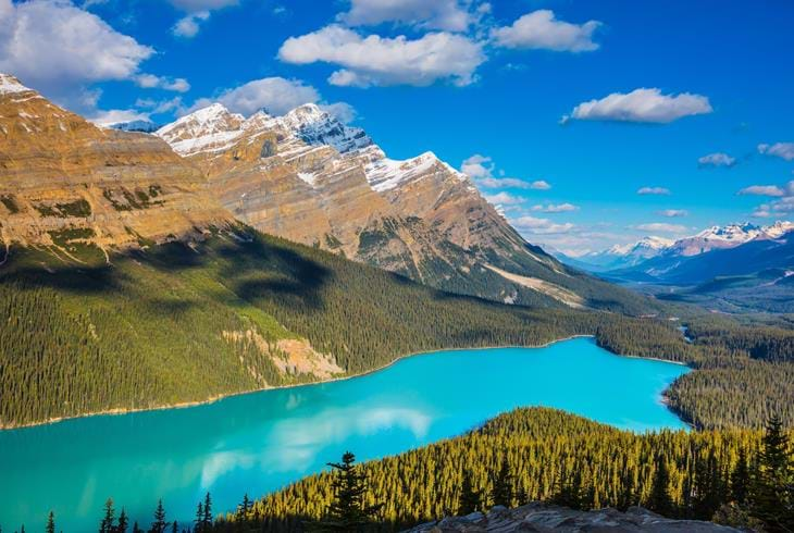 Peyto Lake i Banff National Park