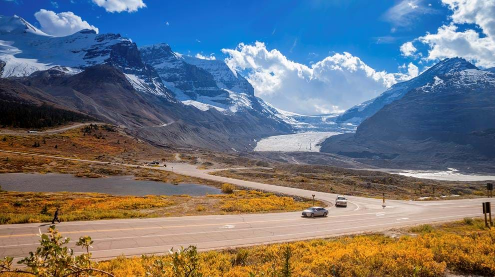 Columbia Icefield og Icefield Parkway - Rejser til Rocky Mountains