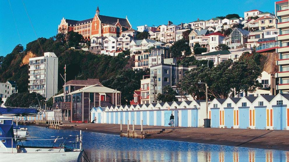 Wellington. Foto: Tourism New Zealand / Rob Suisted