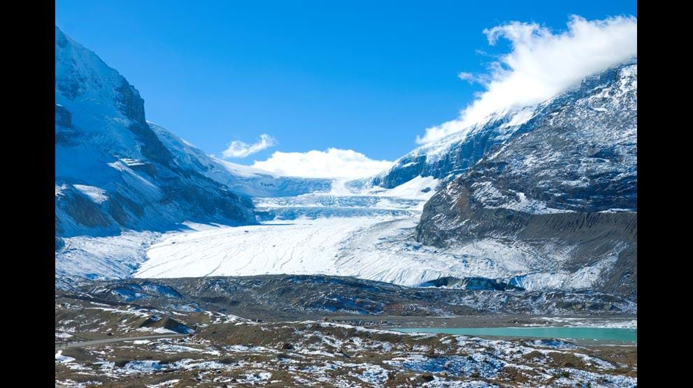 Columbia Icefield - Rejser til Rocky Mountains