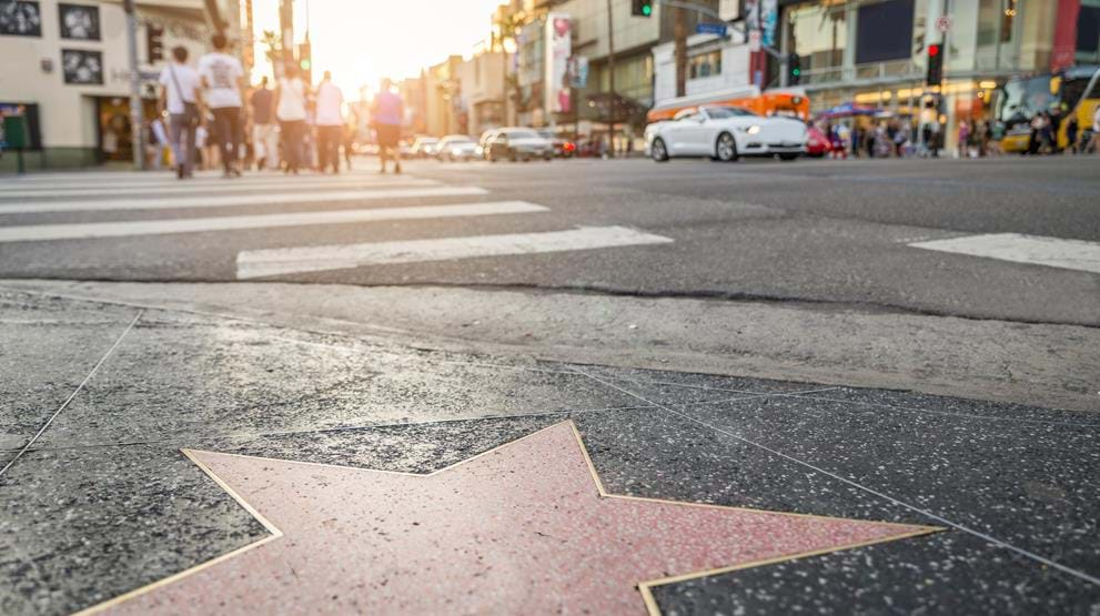 Se Hollywood Walk of Fame