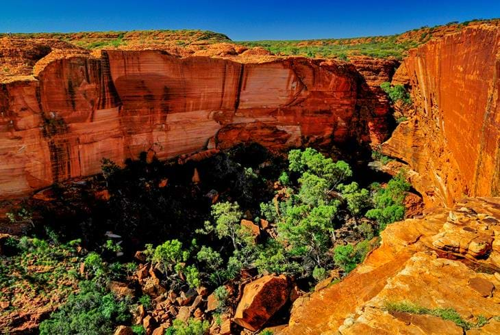 Imponerende Kings Canyon