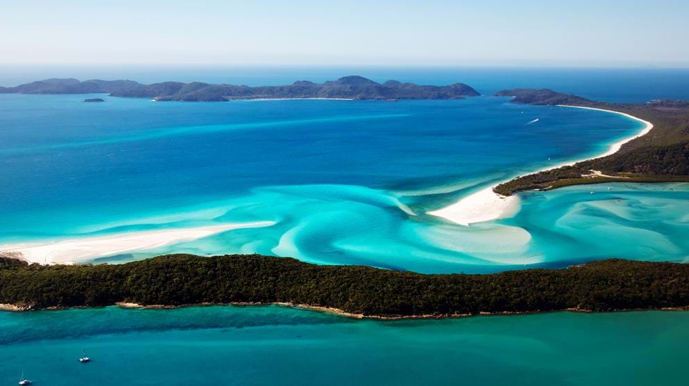 Fantastiske Whitsundays