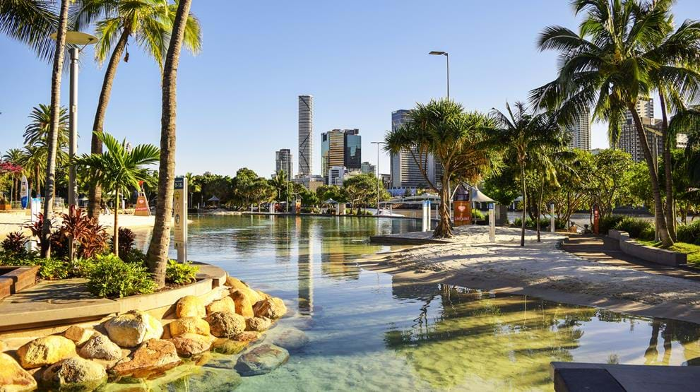 South Bank Parklands i Brisbane