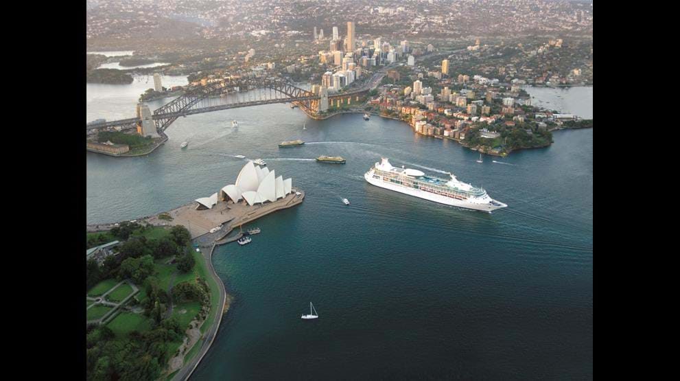 Rhapsody of the Seas i Sydney