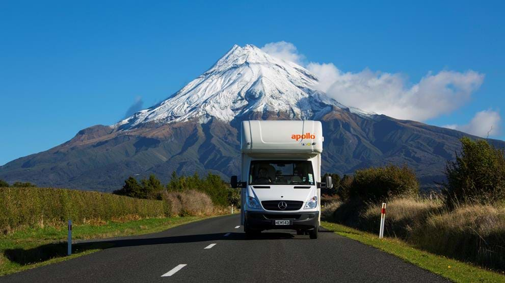 Motorhome i New Zealand
