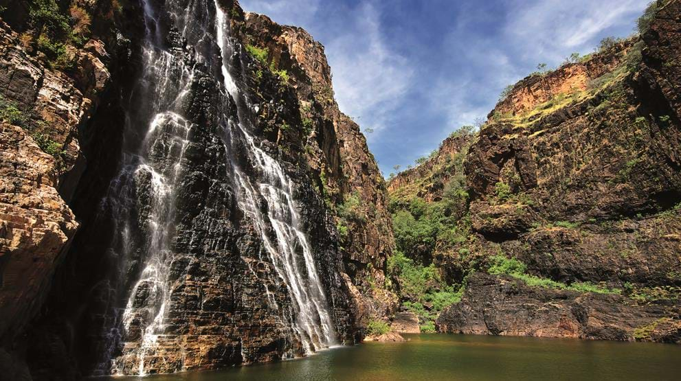 Twin falls i Kakadu National Park