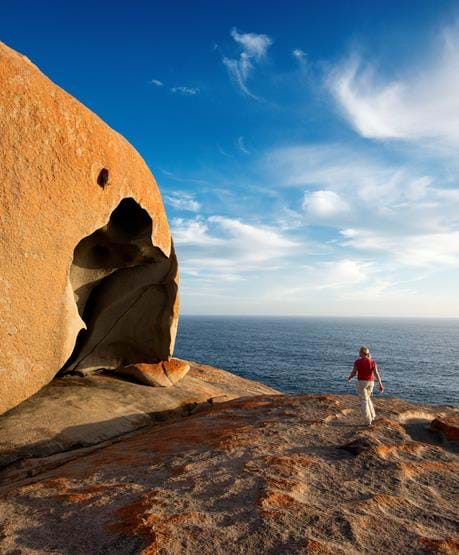Remarkable Rocks. Foto: South Australia Tourism, Julie Fletcher