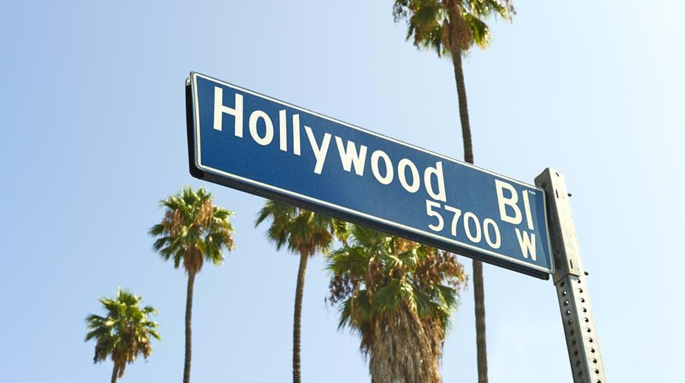 Hollywood Boulevard i Los Angeles
