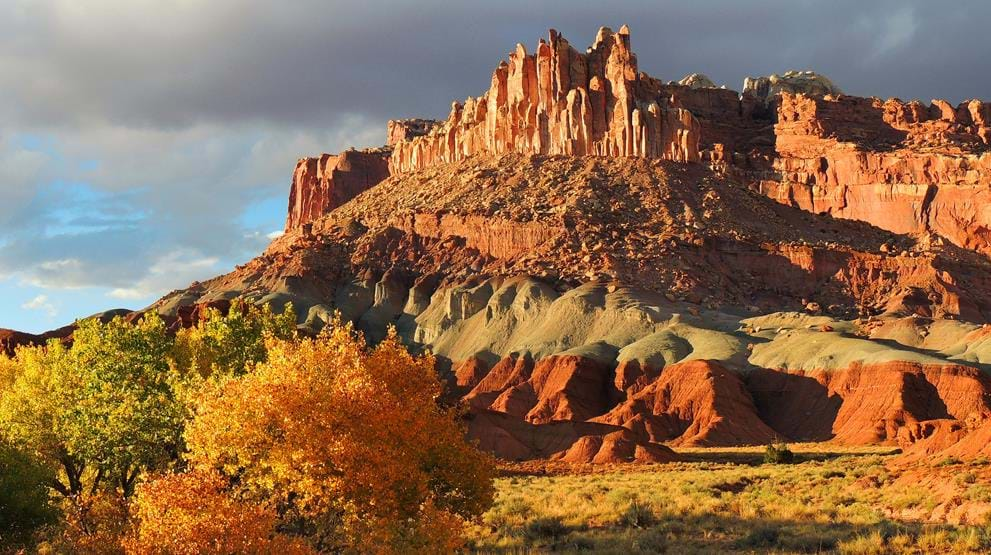 """The Castle"" - Rejser til Capitol Reef National Park"