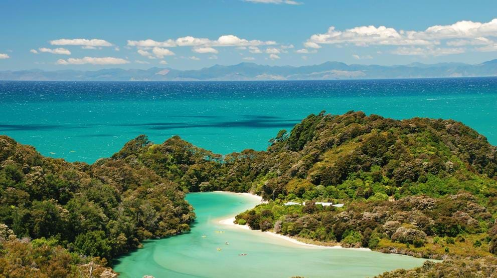 Nyd naturen i Abel Tasman National Park