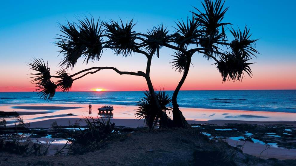 Fraser Island, Queensland. Foto: Tourism Events Queensland & Darren Jew - Rejser til Australien